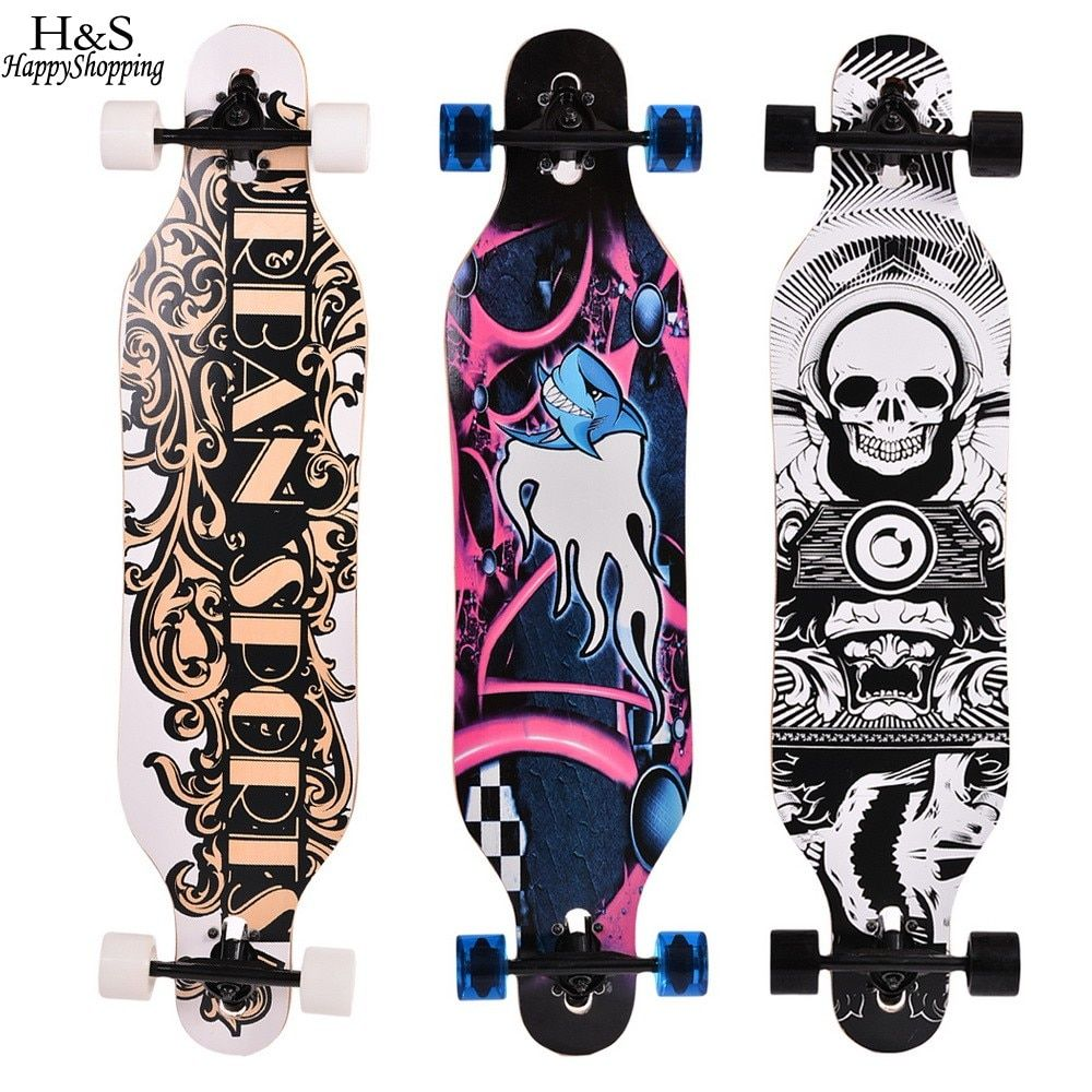 41 inch skate board Maple Longboard Skateboard Adult Children 4 wheels Speed skateboard Outdoor sports skateboard wheel