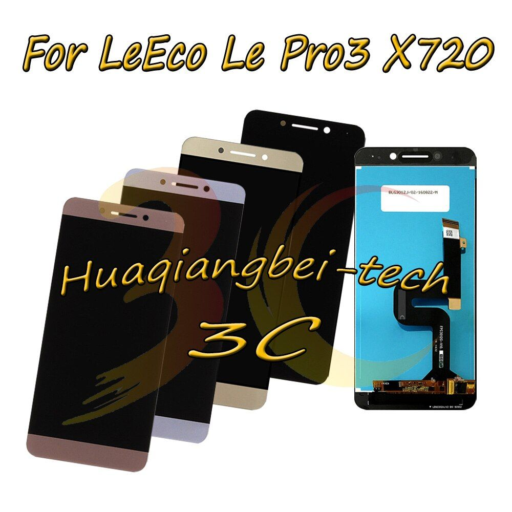 New 5.5'' For LeTV LeEco Le Pro3 Pro 3 X720 X725 X727 X722 X728 x726 Full LCD DIsplay + Touch Screen Digitizer Assembly Tracking