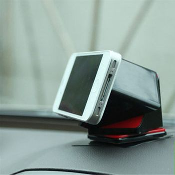 2017  Universal 360degree magic cube Car Mount Black phone Holder Bracket stands for iPhone samsung Smartphone GPS FREE SHIPPING
