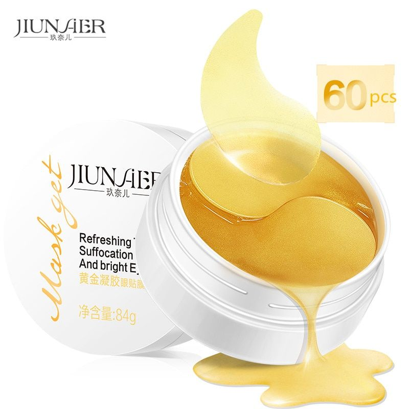 Zonale Gold Aquagel Collagen Eye Mask Ageless Sleep Mask Eye Patches Dark Circles Face Care Mask To Face Skin Care Whitening