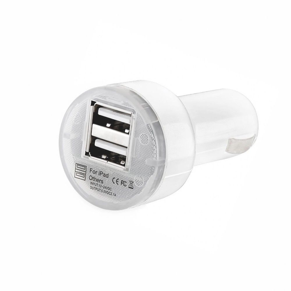 Lowest price! Dual USB Car Charger Wall Plug USB Charger Adapter For Iphone for Samsung