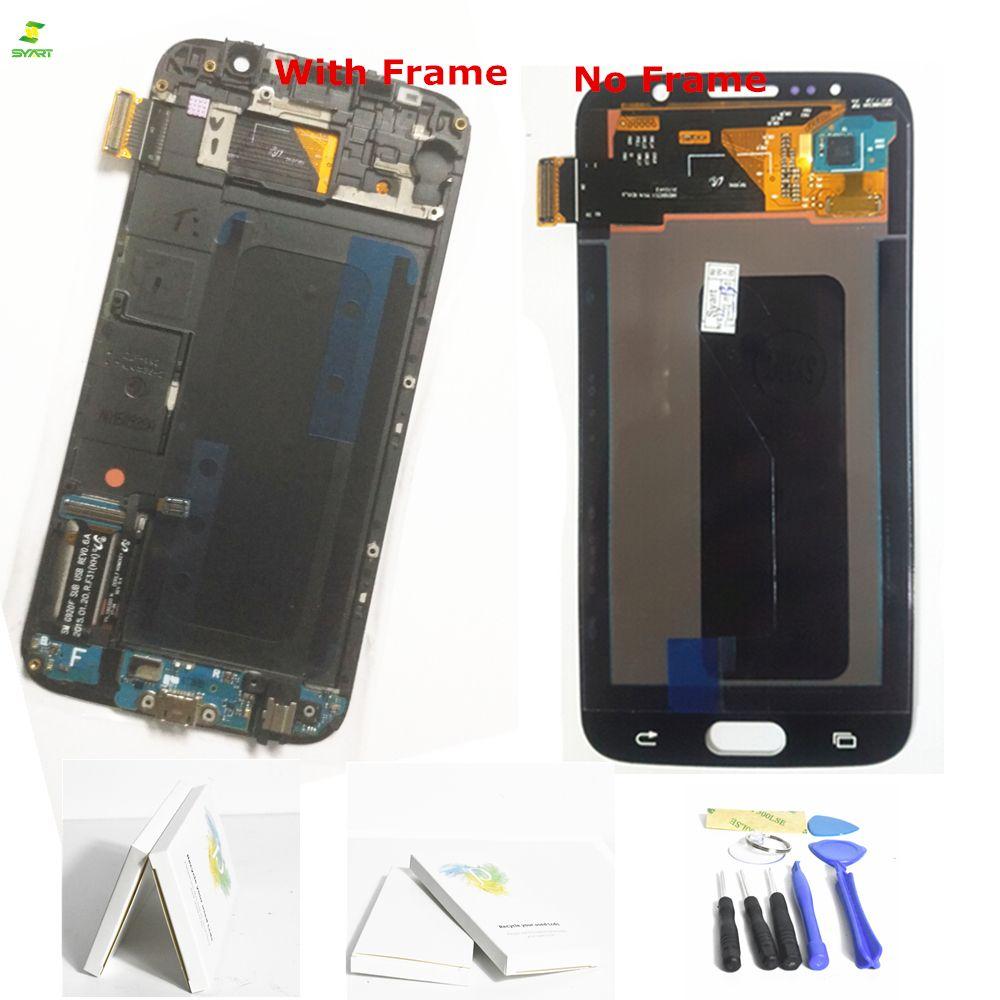 S6 G920 G920F Touchscreen Für S6 Samsung Galaxy S6 G920 G920F G920FD G920A G920I G920K Telefon LCD Display Touch Digitizer LCDs