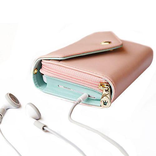 Mode frauen Brieftasche Multifunktionale Umschlag Stil Geldbörse Telefon Kartenhalter Handtasche