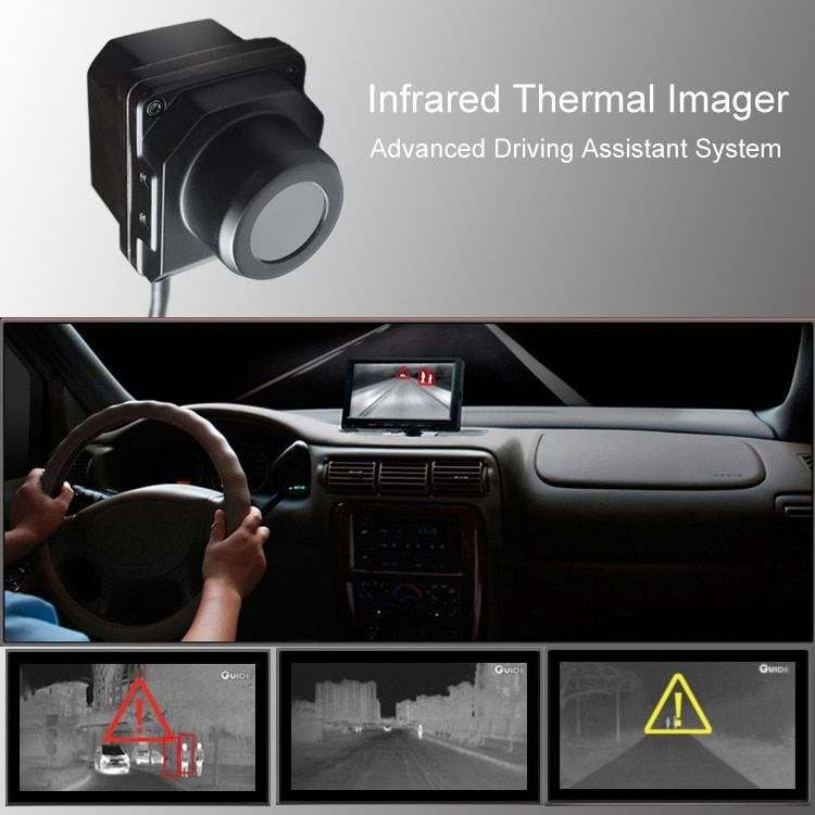 Infrarot thermische imaging Kamera Fahrzeug Auto advanced night vision kamera