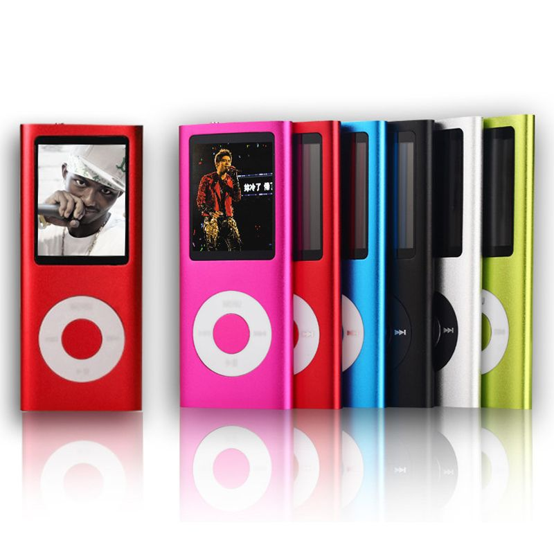 SMILYOU High Quality 16GB MP4 Player 1.8 inch LCD Screen Voice Recorder FM Radio Video Music Player 9 Colors to Choose