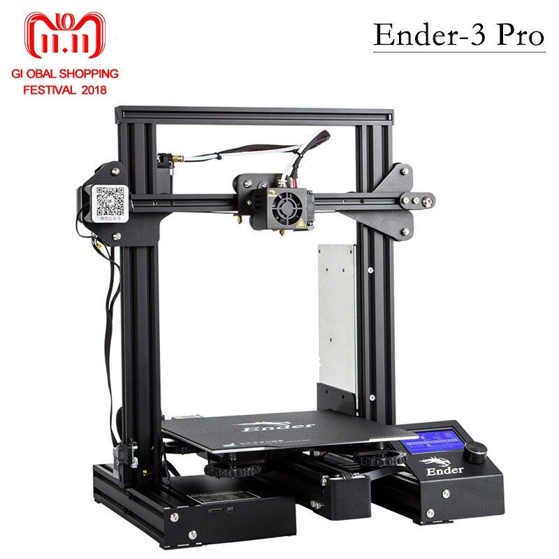 Newest Ender-3 Pro 3D Printer DIY KIT Upgraded Cmagnet Build Plate Resume Power Failure Printing MeanWell Power Soft magnetic