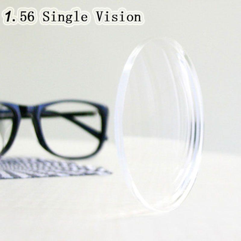 Optique Prescription 1.56 Vision Unique Asphérique HC TCM UV De Résine de Prescription pour la Myopie Presbytie Astagmatism