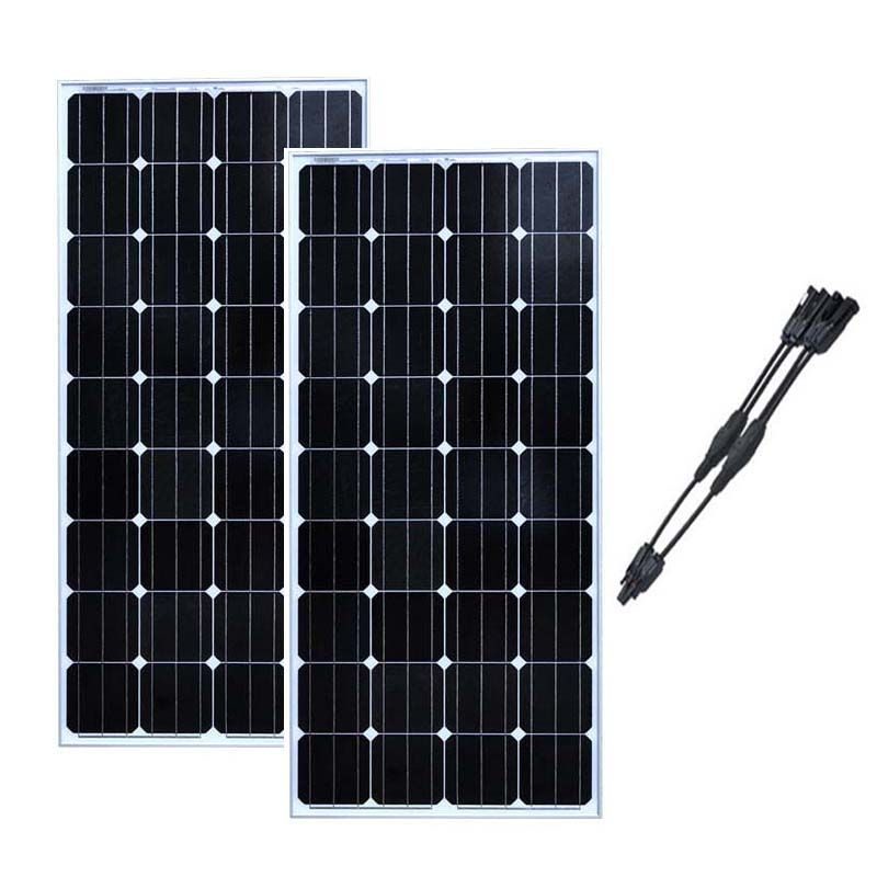Solar Panel Module 12v 150w Solar Boards 24v 300W Solar Battery Charger Caravan Car RV Motorhome Off Grid System Boat Yachts