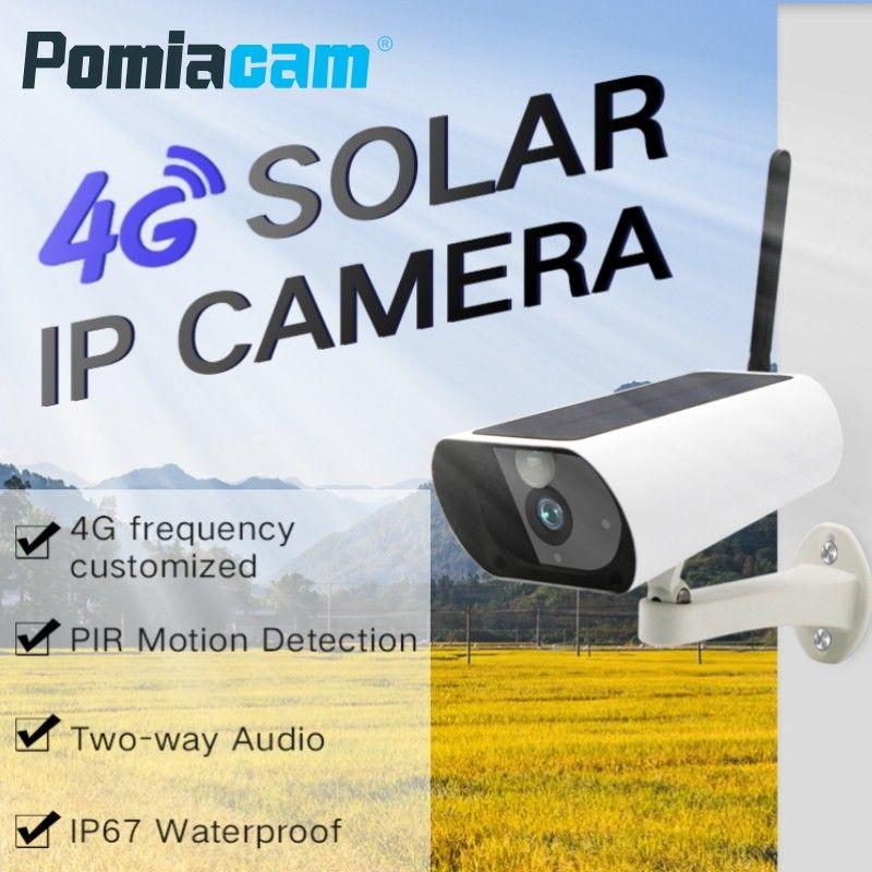 Y9 Drahtlose GSM 3g 4g SIM Karte Solar Powered WiFi Überwachung Kamera für Outdoor Indoor Sicherheit Volle HD 1080 p Gewehrkugel Ip-kamera