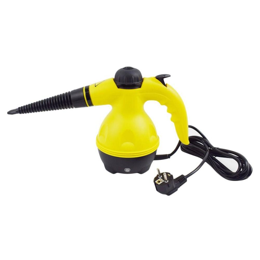 Handheld Vapor Steam Cleaner Machine All-in-One Sanitizer with Extension Hose Cleaner Mop for Bathroom Kitchen Carpet EU Plug