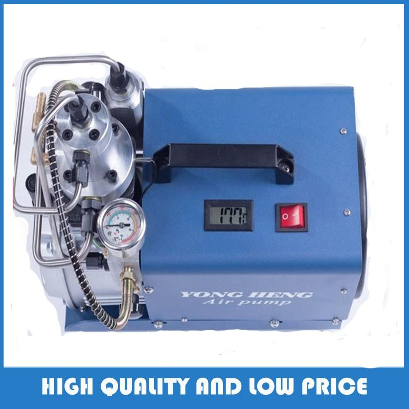 110v/220v 300BAR 30MPA 4500PSI High Pressure Air Pump Electric Air Compressor for Pneumatic Airgun Scuba Rifle PCP Inflator