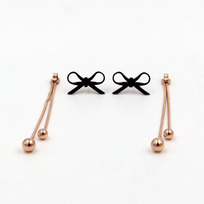 CH-134 New Fashion Simple Vintage Geometric Star Earrings for Women Birthday Gifts