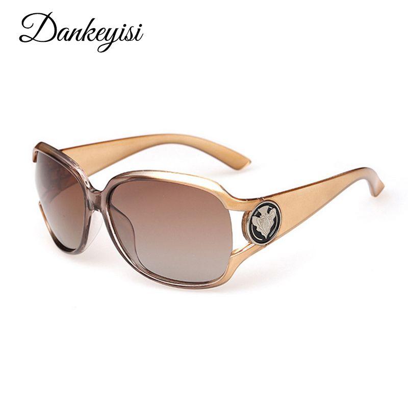 DANKEYISI luxe lunettes de soleil femmes lunettes de soleil polarisées marque Designer lunettes de soleil 2019 dames lunettes de soleil marque lunettes de soleil femme