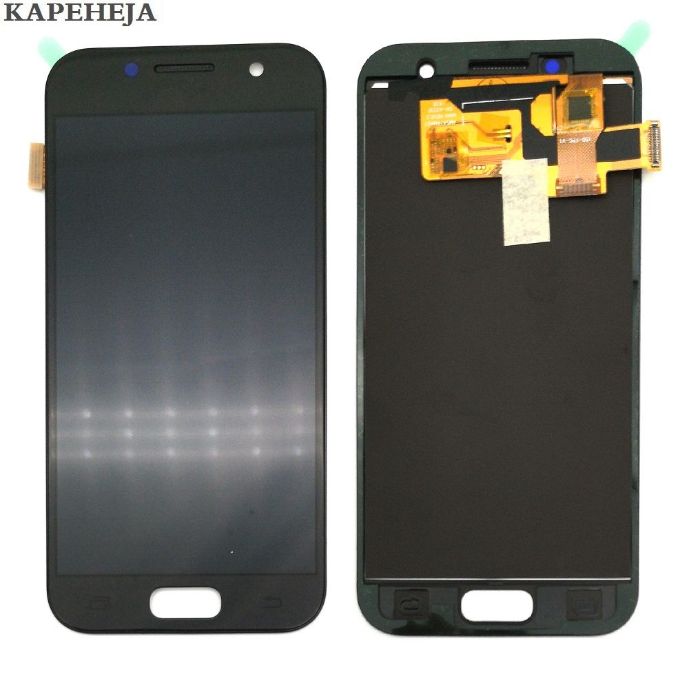 Can adjust brightness LCD For Samsung Galaxy A3 2017 A320 A320F LCD Display Touch Screen Digitizer Assembly