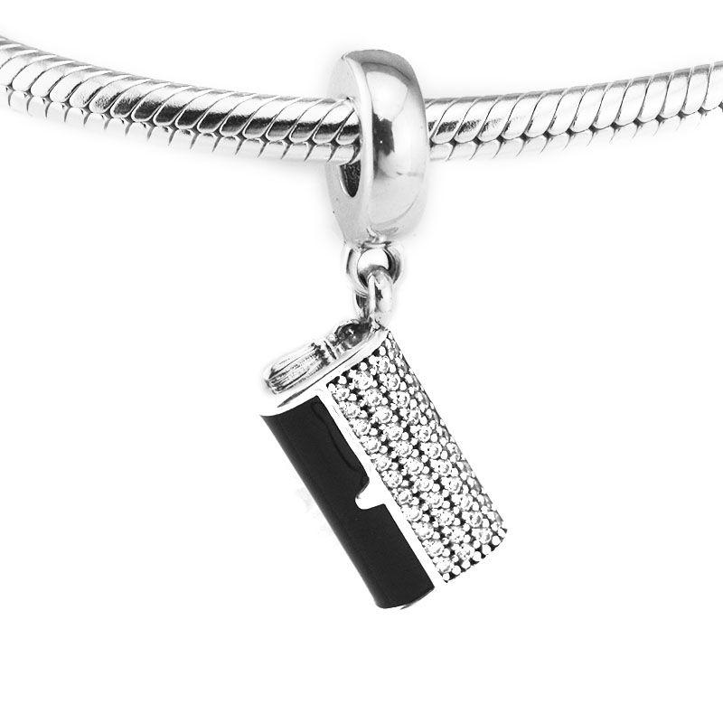 Convient aux Bracelets Pandora véritable 925 en argent Sterling pochette breloques perles pour la fabrication de bijoux Compatible avec les bijoux de l'europe