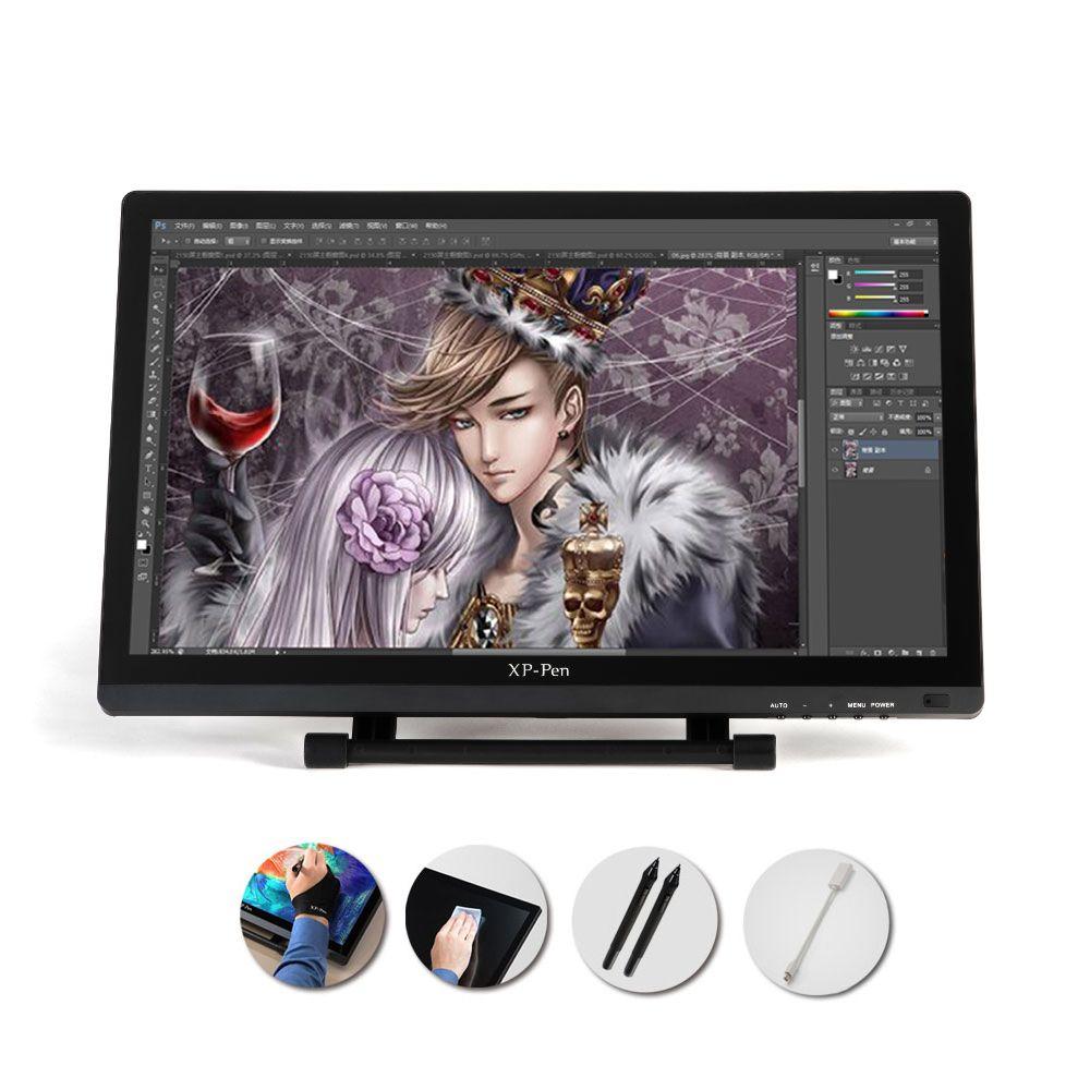 XP-PEN 21,5 HD IPS Grafiken Zeichnung Display Malerei Bildschirm Dual Monitor Modus Einstellbar Stehen Stift Disaplay
