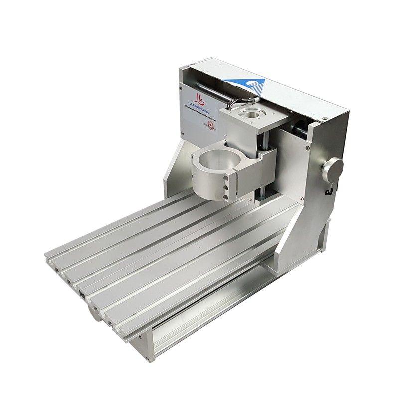 Mini DIY CNC maschine CNC 3020 Rahmen Bohren Und Fräsen Maschine Für Hobby Zweck 65mm spindel Ohne Motor