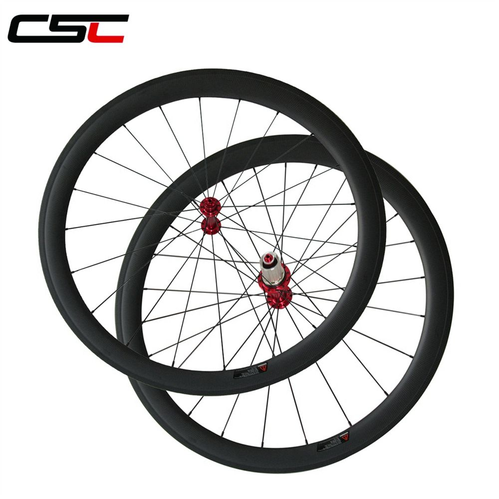 Super light Powerway R13 hub carbon wheelset, 23mm width 24/38/50/60/88mm depth clincher or tubular carbon road bike wheels