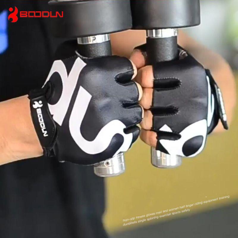 Respirant anti-dérapant salle de sport fitness gants hommes femmes entraînement sport entraînement crossfit exercice haltérophilie gants