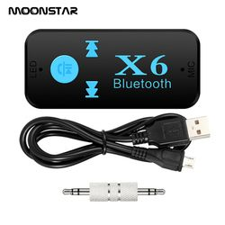 Car Bluetooth  Adapter audio receiver Wireless Car Bluetooth Aux Handsfree Kit  Free For Speaker Headphone  TF Card MP3 Player