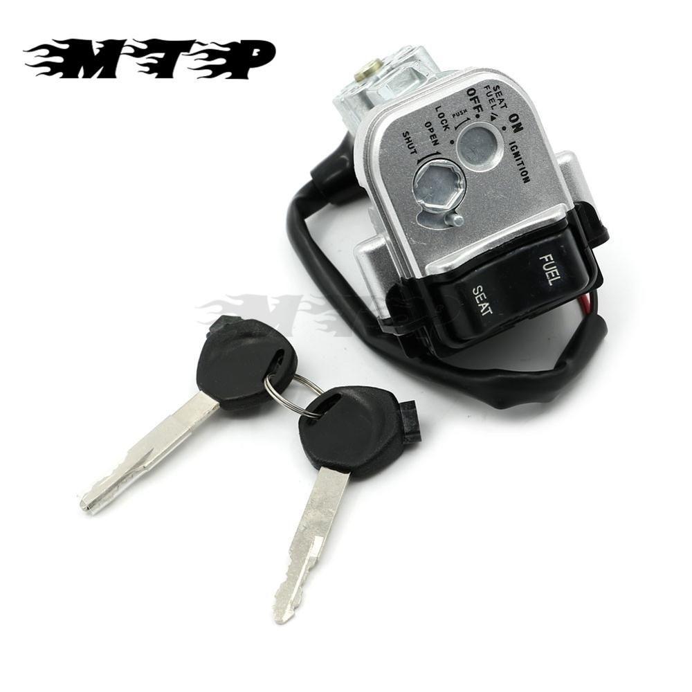 PCX125 PCX150 14 15 Motorcycle Ignition Barrel Lock Fuel Gas Switch Seat Switch Keys Set For Honda PCX 125 PCX 150 2014 2015