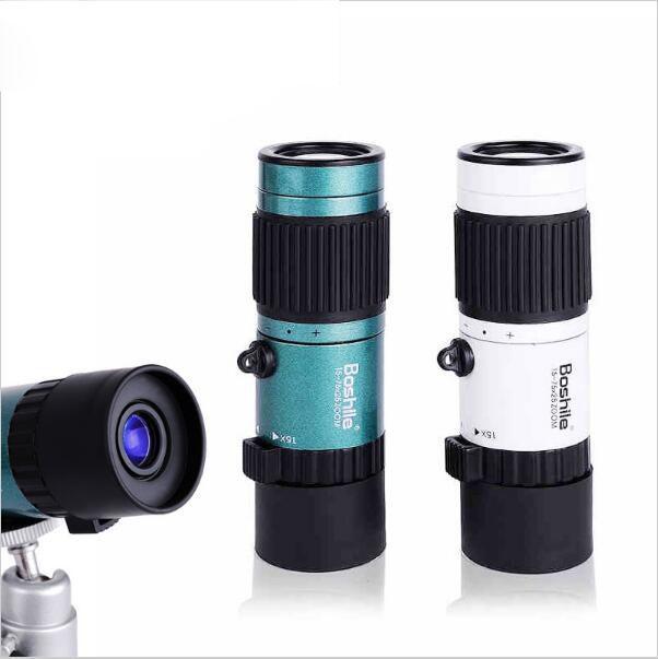 Haute Qualité Puissant jumelles 15-75x25 HD accent Flexible Haute Puissance Mini Monoculaire Zoom Télescope Pour Poche voyage chasse