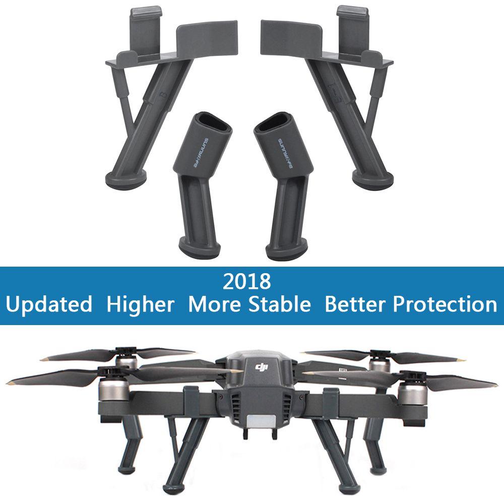 Upgraded Landing Gear for DJI Mavic 2 Pro Zoom Heightened Landing Gears Support leg Skid Stabilizers for DJI Mavic 2 accessories
