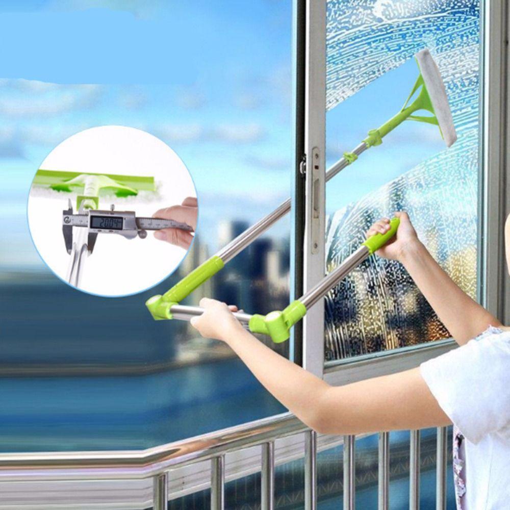 Brosse pour windows télescopique Éponge chiffon mop cleaner fenêtre maison de nettoyage outils hobot brosse pour laver les fenêtres de nettoyage de la poussière