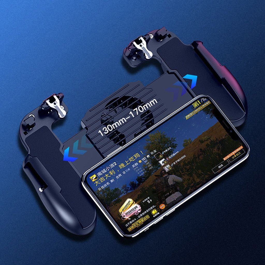 NEW for PUBG 4-in-1 game phone button set shooting and target trigger mobile phone cooling mobile game controller drop shipping