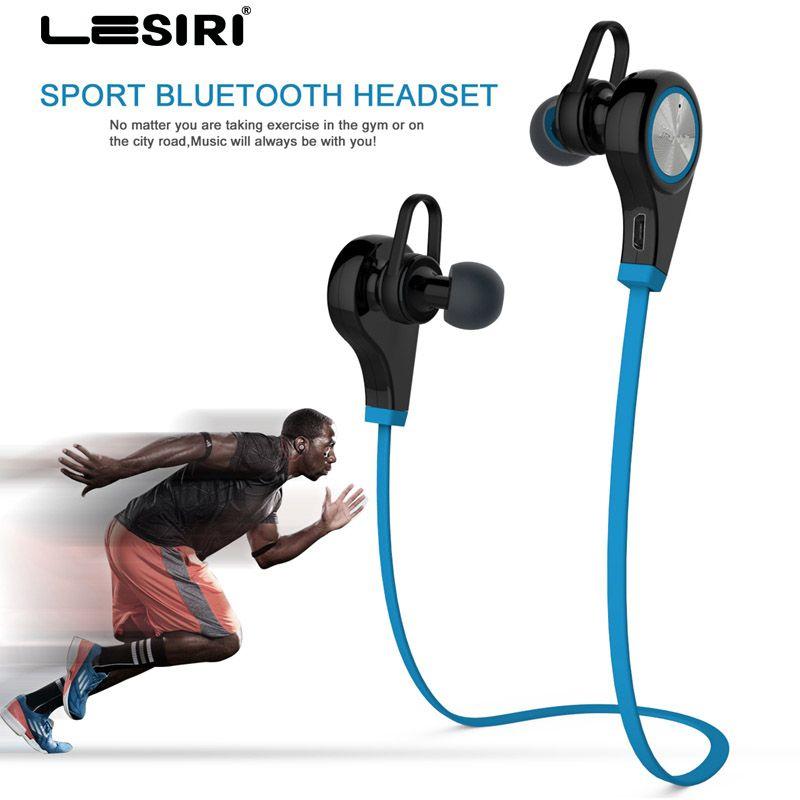 Bluetooth Casque Sans Fil de Sport Écouteurs In-Ear Casque de Course Musique Stéréo Intra-auriculaires Mains Libres avec Micro pour iPhone 8 Samsung