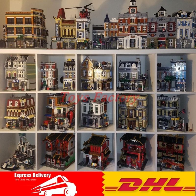DHL LEPIN 16030 15019 15001 15035 15007 15008 15002 15005 15003 15011 15017 16050 15037 15031 15034 Model Building Kits Blocks