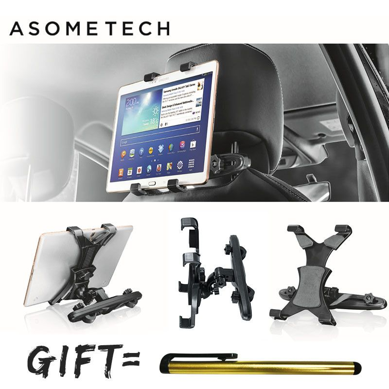 Telescopic 360 Degree Rotation Car Headrest Tablet Stand For ipad/Samsung/Xiaomi/Huawei Tab Support Car back Seat Mount Holder