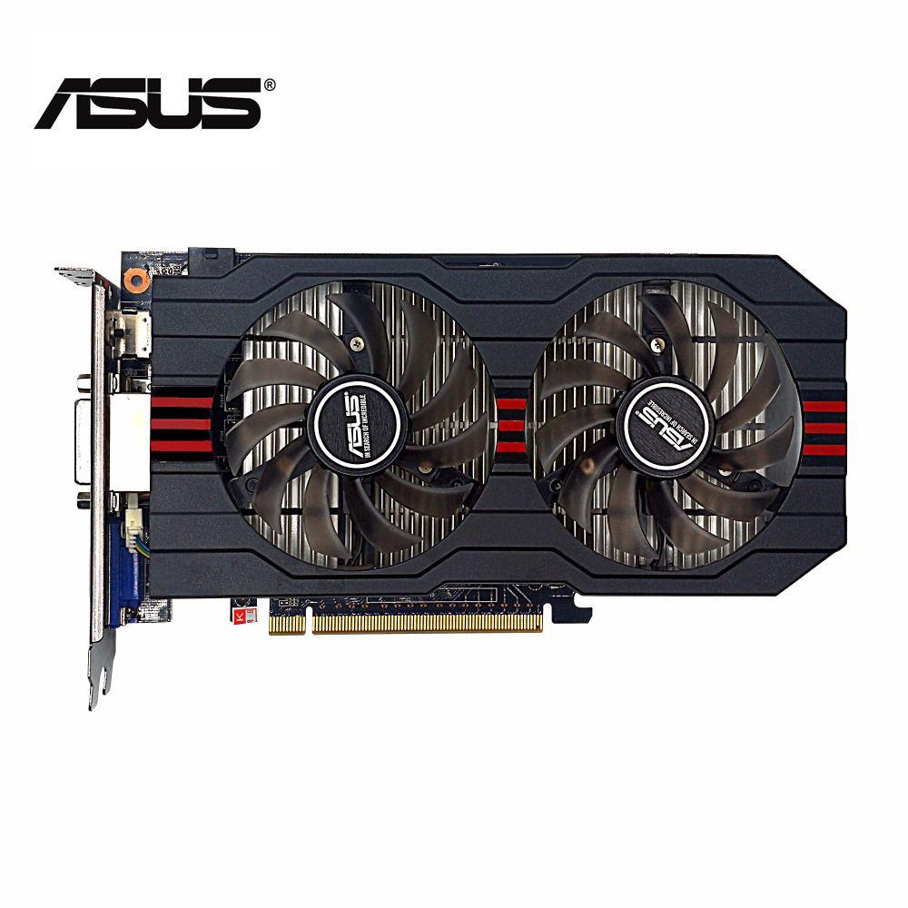 Verwendet, original ASUS GTX 750TI 2G GDDR5 128bit Gaming Video Grafikkarte, guter zustand, 100% getestet gut!