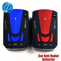 Viecar Auto Car Anti Radar Detector (English/Russian )for Vehicle V7 Speed Voice Alert Warning 16 Band LED Display Detector