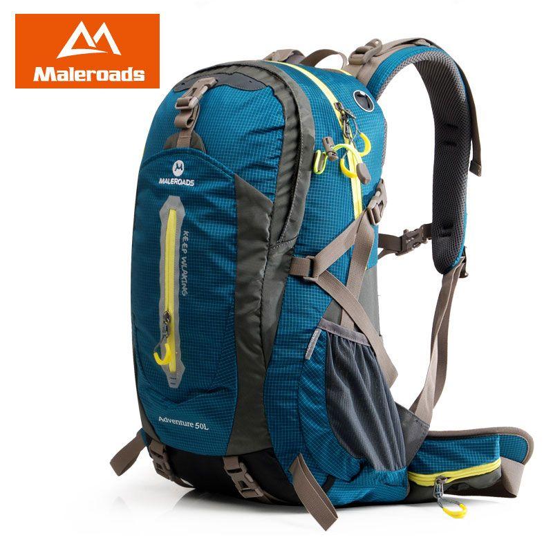 Chaud! Maleroads randonnée sac à dos 50L sports de plein air voyage sac à dos escalade matériel de Camping randonnée matériel pour hommes femmes