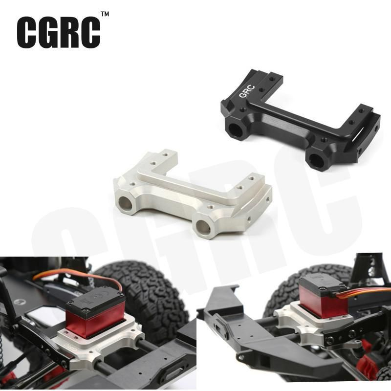 Metal Front Servo Stand Low Center Of Gravity Bracket For 1/10 Jeep Cherokee Wrangler Rc Crawler Axial Scx10 90047 90046