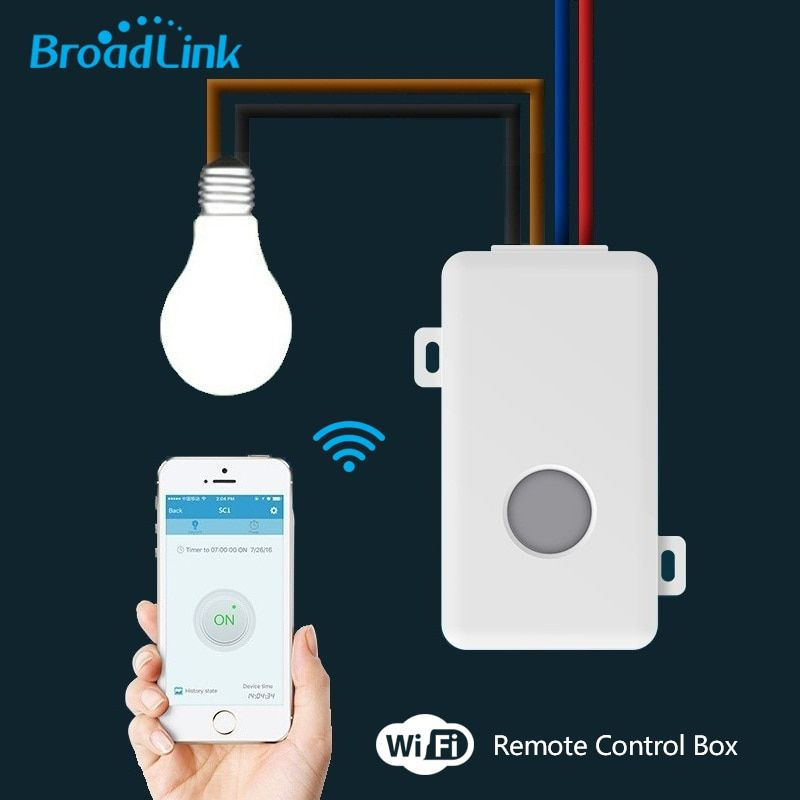 2017 Broadlink Remote Control Wifi Switch Smart Home automation/ Intelligent WiFi Center for APP Smart Home Controls 10A/2500W