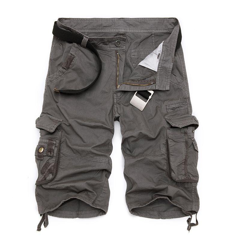 Hommes militaire Cargo Shorts 2019 tout nouveau armée Camouflage tactique Shorts hommes coton lâche travail décontracté court pantalon grande taille