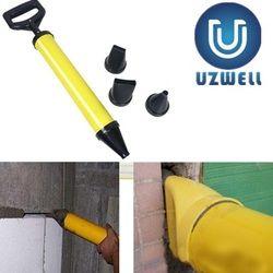 Caulking Gun Mayitr Menunjuk Brick Grouting Mortar Sprayer Alat Aplikator untuk Semen Kapur dengan 4 Nozel