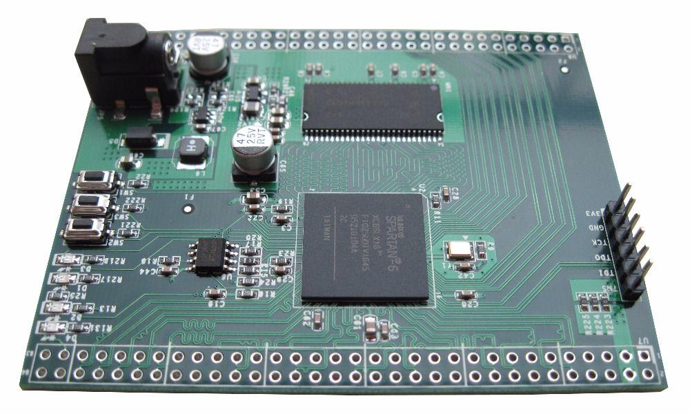 Spartan6 Placa de desarrollo Xilinx FPGA SDRAM Spartan-6 base XC6SLX16