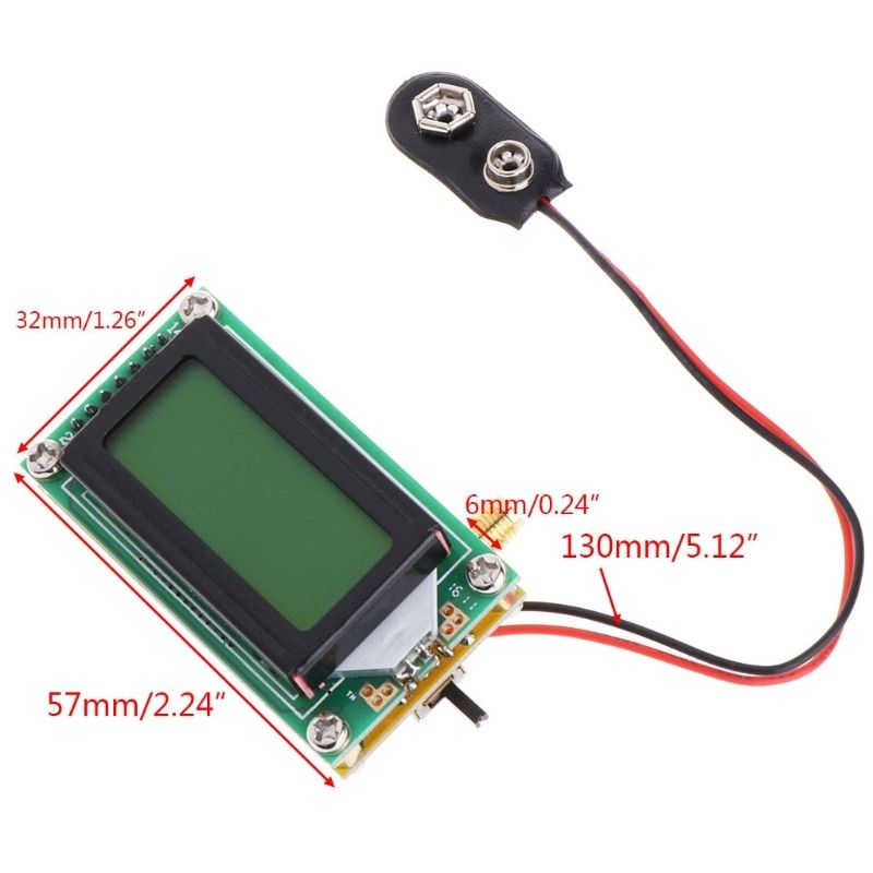 High Accuracy Frequency Counter RF Meter 1~500 MHz Tester Module For ham Radio #0616
