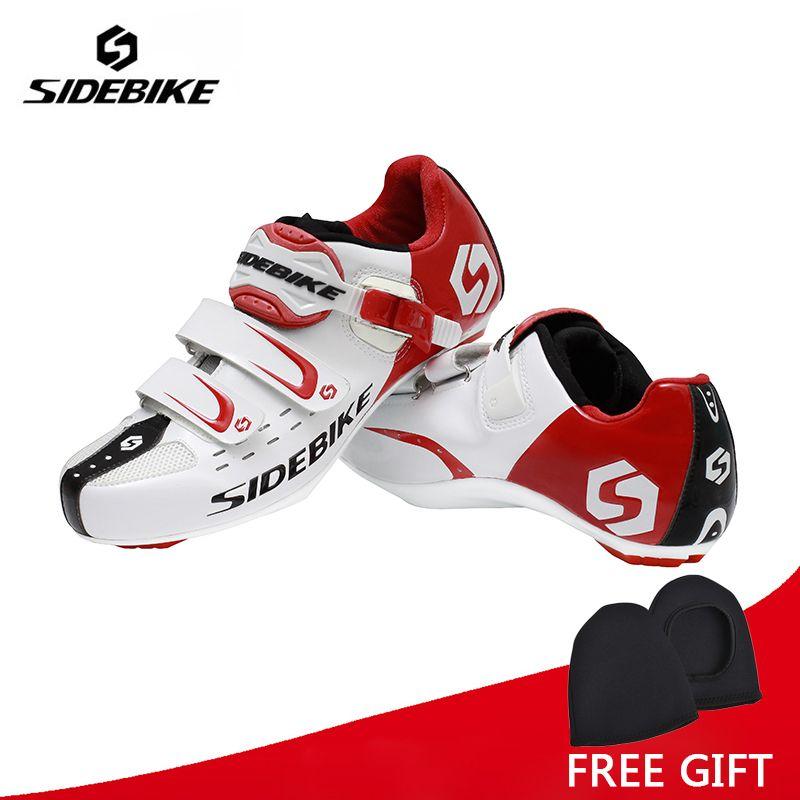 Sidebike Männer Athletisch Radfahren Bike Schuhe Road Fahrrad Sport Schuhe Sneakers Autolock Sapato Ciclismo EUR Größe 40-46