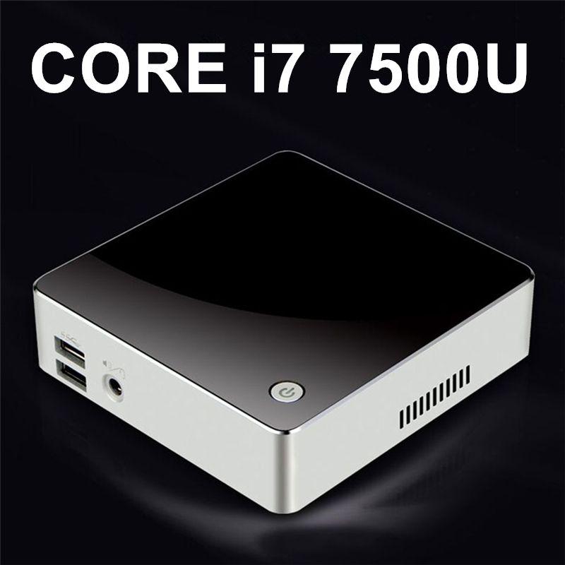 [Intel Core i7 7500U/i5 7200U] Kaby Lake Mini PC Windows 10 DDR4 V200 Nuc Graphics HD 620 5G AC Wifi Bluetooth HTPC HDMI Mini DP