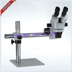 Permata Mikroskop perhiasan lingkup mikro dengan Berdiri alat perhiasan