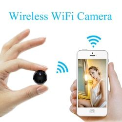 HD 1080P Mini Wifi IP Camera Infrared Night Vision Micro Network Camcorder Charge While Recording Recording Video Voice Car DV
