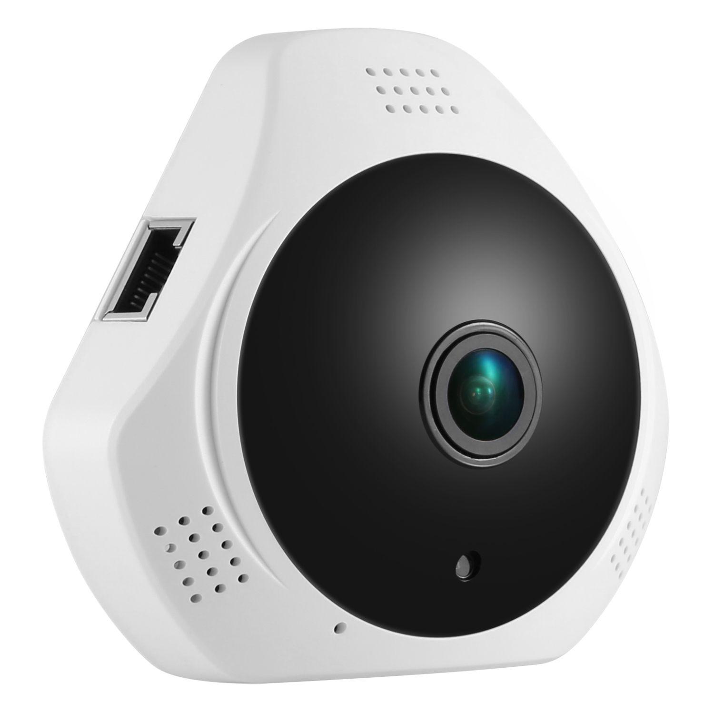 SANNCE 360 Degree Wireless Panoramic Camera MINI 960P Network Wi-fi Fisheye Security IP Camera WIFI 1.3MP Video Built-in MIC