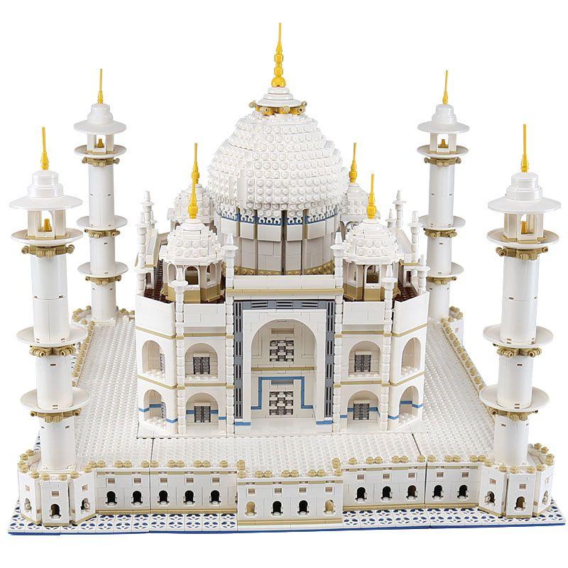 LEPIN 17008 The taj mahal Model LegoINGlys Building Kits Blocks Bricks Compatible Children new year Gift With 10189 funny Toy