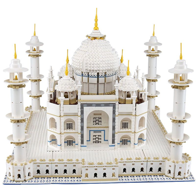 LEPIN 17008 The taj mahal Model LegoINGlys Building Kits Blocks Bricks Compatible Children new year Gift With 10189 funny Toy