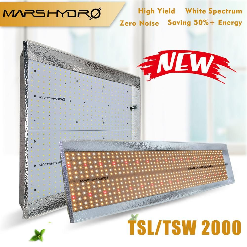 Mars Hydro TS 2000W Quantum Bord LED Wachsen Lichter Gesamte Spektrum Indoor Hydrokultur Kits