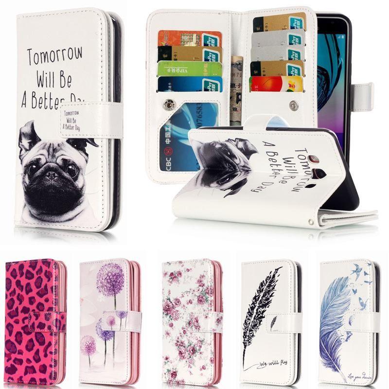 Pour Coque Samsung Galaxy J5 2016 étui en cuir portefeuille Flip couverture pour Fundas Samsung Galaxy j5 2016 Coque de téléphone J510F J5 6 J5 2015